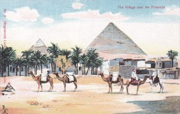 Riding Camels, The Village Near The Pyramids, Pre 1907 - Pyramids