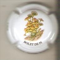 PLACA DE CAVA MARIA OLIVER PORTI DE UN BOLET DE PI (CAPSULE) HONGO-MUSHROOM-SETA - Placas De Cava