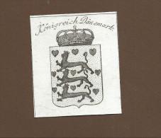 KUPFERSTICH  -  REILLY  1791 - KÖNIGREICH DÄNEMARK  - ORIGINAL! - Danimarca