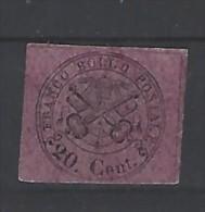 Italia - Antichi Stati - Stato Pontificio 1867 - Nuovo/new MH - Mi N. 16 - Stato Pontificio