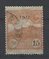 San Marino - 1905 - Usato/used - Sovrastampati - Mi N. 46 - Gebruikt