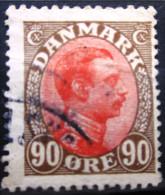 DANEMARK              N° 115             OBLITERE - 1913-47 (Christian X)