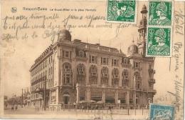 NIEUPORT-BAINS Grand Hôtel Et Place Henriette Carte Super Taxée ! - Nieuwpoort