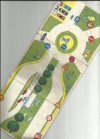 Carte  3  Volets De La Signalisation Routière Pour Permis De Conduire - Wegenkaarten