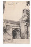 Carte De NOVES  église ( Peu Courante ) ( Recto Verso ) - Autres Communes