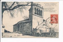 Carte De MOISSAC Près De Neussargues  église ( Recto Verso ) - France