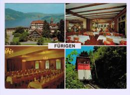 3864  Cpm  HOTEL FÜRIGEN  ( Füringen ) Multivues - NW Nidwalden