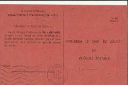 Cheques-Postaux De 1975 - Cheques En Traveller's Cheques