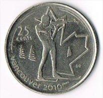 Canada 2007 25 Cents Olympics - Canada