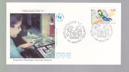 Enveloppe Premier Jour 1er Fdc Philexjeunes 97 Nantes 1997 - FDC