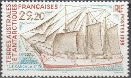 TAAF 1998 Yvert 230 Neuf ** Cote (2015) 14.50 Euro Bateau Le Cancalais - Neufs
