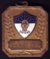 *O401 CUBA MEDAL. 1954-55 MEDAL SPORT SOFT BALL F.S.P.E.G.A. R. BACARDI. - Fichas Y Medallas