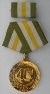 *O60 CUBA MILITAR MEDAL 40 ANIV OF EMBARK OF GRANMA SHIP - Tokens & Medals