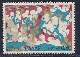 Greece, Scott # 1068 MNH Fresco, 1973 - Unused Stamps