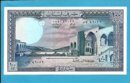 LEBANON - 100 LIVRES - 1983 - P 66.c - UNC. - 2 Scans - Líbano
