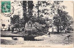 71. CHALON-SUR-SAONE. Jardin De L'Hôpital. 41 - Chalon Sur Saone