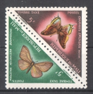 51-568 // MALI - 1964/84   OFFICIAL  STAMPS   BUTTERFLIES  Mi  13/14 ** - Mali (1959-...)