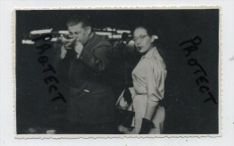 CPA CARTE PHOTO : TIR PHOTOGRAPHIQUE ** SHOOTING STAND GUN ( Kermesse ) Tir - Photographie