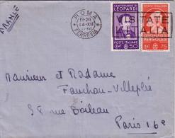 ITALIE - BEL AFFRANCHISSEMENT DE ROME POUR LA FRANCE LE 14-12-1937. - Italien