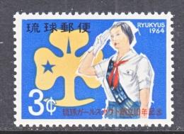 RYUKYU  ISLANDS  121  **  GIRL  SCOUT - Scoutisme