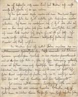 V44 / ALLEMAGNE LETTRE MANUSCRITE EN ALLEMAND TAMPON GENEHMIGEN ELBERFELD 20.11.1914 + TAMPON DE LA VILLE GUERRE WW1 ? - Germany