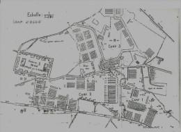 34) AGDE - Camp D´Agde -  Le Plan Du Camp  ( Exode Espagnole) - Agde