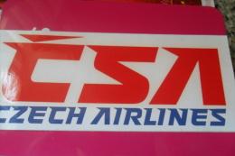 Csa Czech Airlines - Aufkleber