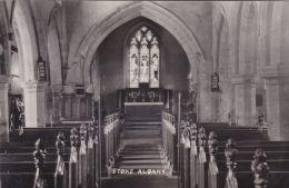 STOKE ALBANY CHURCH INTERIOR - Northamptonshire