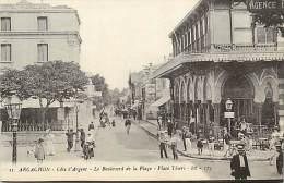 Réf : D-15-1662  :  ARCACHON PLACE THIERS  BOULEVARD DE LA PLAGE - Arcachon