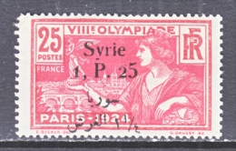 FRENCH  SYRIE  167   *   OLYMPIC  GAMES - Unused Stamps