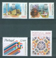 PORTUGAL - Mi 1554/1557 - MNH** - Cote 5,80 € - 1910-... République