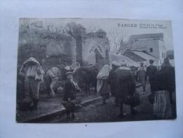 Maroc Francais  Tanger Rue De La Plage Animation - Tanger