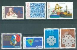 PORTUGAL - Mi 1581/1587 - MNH** - Cote 8,10 € - 1910-... République