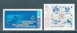 PORTUGAL - Mi 1602/1603 - MNH** - Cote 4,40 € - 1910-... République