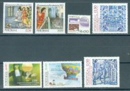 PORTUGAL - Mi 1608/1614 - MNH** - Cote 10,70 € - 1910-... République