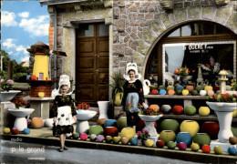 29 - TREGUNC - Poteries Artistiques - Carte Pub LE QUERE - Trégunc