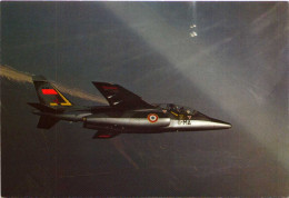 """Alphajet De La 8e Escadre De Chasse - Escadron 1/8 """"Saintonge"""", Cazaux - 1946-....: Moderne"""