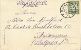 _5Pk926: N° 62 / Prentkaart: München Percy Hein N°426: MUENCHEN N2BP 22 MAI 04 K5- 6II>  Antwerpen - Bayern