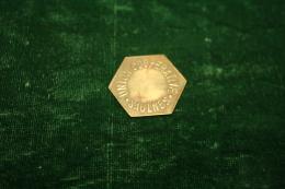 MONNAIE DE LA COOPERATIVE DE SAULNES - MEURTHE ET MOSELLE - Monétaires / De Nécessité