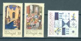 PORTUGAL - Mi 1673/1675 - MNH** - Cote 4,20 € - 1910-... République