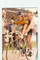 A Identifier. 2 Scans. Cyclisme. Equipe IJSBOERKE WARNCKE (1979 ?) - Cycling