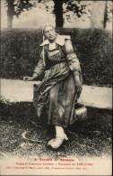 29 - TREGUNC - Costumes - Coiffes - à Travers La Bretagne - - Trégunc