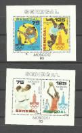Sénégal Bloc N°22, 23 Neufs** Cote 4.75 Euros - Senegal (1960-...)