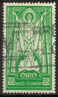 Irlanda U 090 (o) Foto Estandar. 1941. Filigrana E - 1922-37 Stato Libero D'Irlanda
