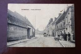 1 CP Wormhoudt, Route D'Herzeele, Charrette, Animée, Gros Plan, Edit.Deconinck - Wormhout