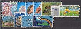 Polynésie Française - Année  1978 Complète   -  Poste Aérienne Luxe ** - Années Complètes