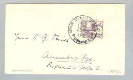 MOTIV Sport Olympiade Pferde Berlin 1936-08-07 Brief Mi#616 EF - Briefe U. Dokumente