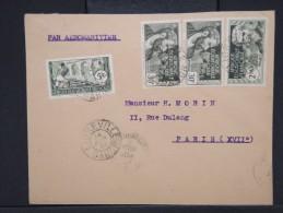 FRANCE-A.E.F.-Enveloppe De Libreville  Pour Paris  En 1939   Aff Plaisant     P5899 - Brieven En Documenten