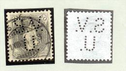 MOTIV PERFIN Ca. 1904 S.V./U. Stehend 40Rp. Zu#69E Mi#61YD - Oblitérés