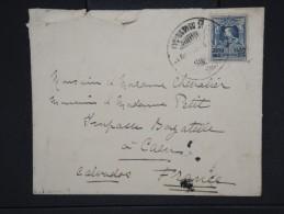 SIAM - Enveloppe De Bangkok  Pour Caen En 1925     P5903 - Siam